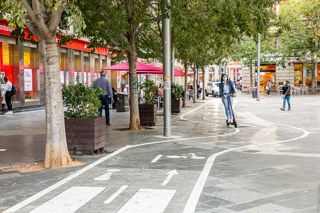 Велодорожка. Пальма-де-Мальорка.