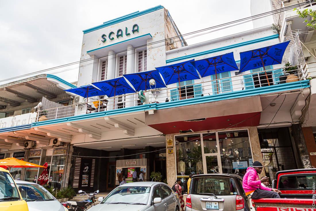 Scala cinema Maputo, Mozambique, Africa. Ар-деко. Кинотатр Скала, Мапуту, Мозамбик, Африка
