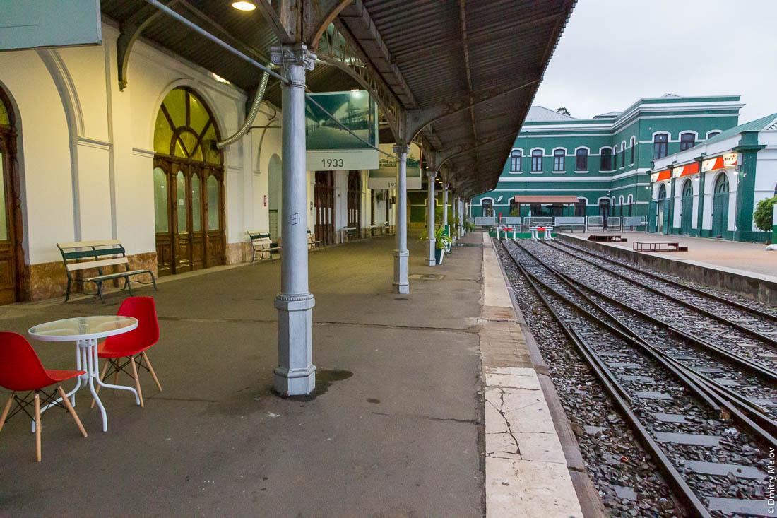 Центральный вокзал. Мапуту, Мозамбик, Африка.