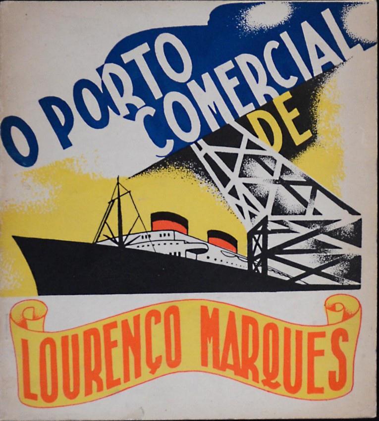 Исторический плакат, реклама порта Лоренсу-Маркиш